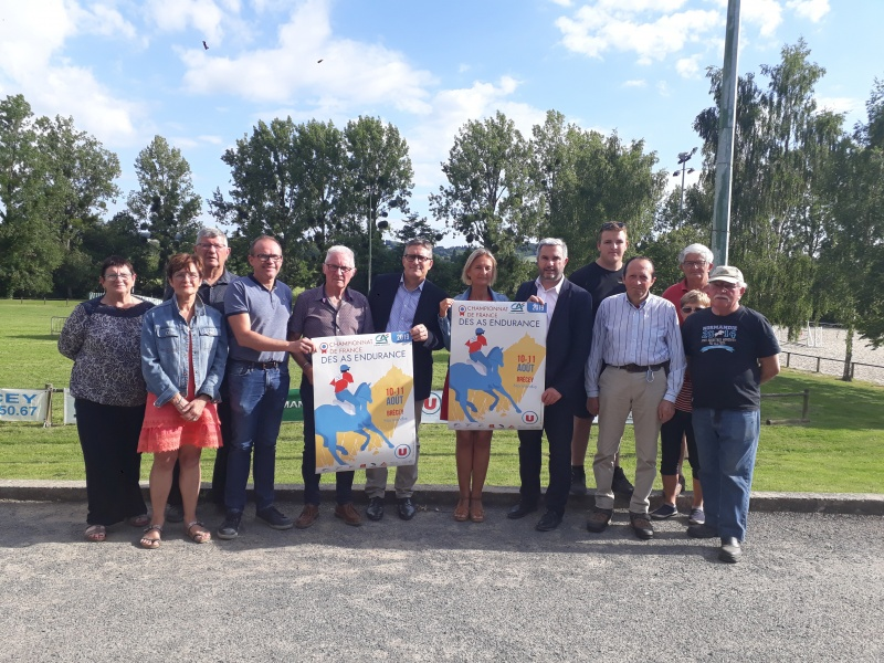 Le CA Normandie encourage le Championnat des As à Brécey